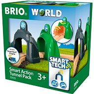 Brio World 33935 Smart Tech Action Tunnels acceleration and deceleration - Train Set