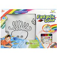 Magic Painting with Felt-tip Pens - Creative Kit