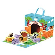 Travel Case with Animals - ZOO