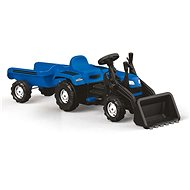 Ranchero Tractor Pedal with trailer and excavator - Pedal Tractor