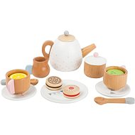 Small Foot Tea Set with Biscuits