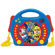 Lexibook Paw Patrol CD Player with Microphone - Musical Toy