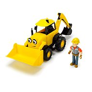 Dickie Borek Excavator Beda Talking Figure of Borek - Toy Vehicle