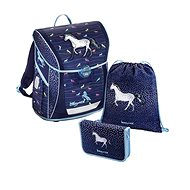 Baggymax Fabby Denim Horse - School Set