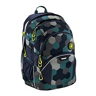 Coocazoo JobJobber2 Blue Geometric Melange - School Backpack