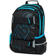 OXY Sport Black Line blue - School Backpack