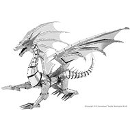 Metal Earth BIG Silver Dragon ICONX - Metal Model
