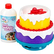 Fru Blu Bubble Cake - Bubble Blower