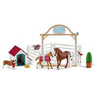 Schleich Horses, Hannah with Ruby, the Foal