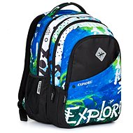 Daniel Blue Rainbow 2-in-1 - School Backpack