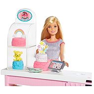 Barbie Cake Decorating Playset - Doll Accessory
