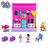 Polly Pocket Pollyville Diner Le Restaurant playset - Game Set