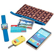 Fisher-Price Wallet and Pretend Accessories Play Set - Game Set