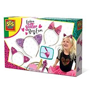 SES Decorating Headbands with Glitter, Ears, Bows - Jewellery Making Set