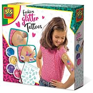 SES Fashion Tattoo with Glitter - Creative Kit