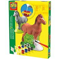 SES Plaster Casting and Painting Set - Horse - Creative Kit