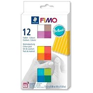 Fimo Soft Set 12 Brilliant Colours - Clay