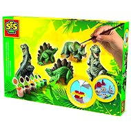 SES Cast and Paint - Three dinosaurs - Creative Kit