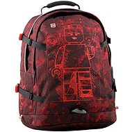 LEGO Mini-figures Burgundy Camo Tech Teen - City backpack