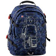 LEGO Mini-figures Blue Camo Tech Teen - City Backpack