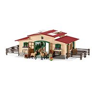 Schleich 42195 Stables with horses and accessories - Game set