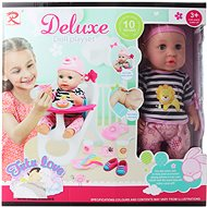 Deluxe Doll Set Futu-love with High Chair - Doll Accessory