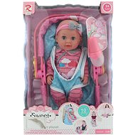 Peeing Doll with Sounds in a Carry Seat - Doll Accessory