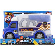 Police Car with Accessories, Battery-operated