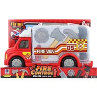 Fire Engine, Battery-operated, with Accessories