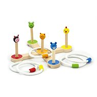 Throwing Rings Game - Wooden Toy