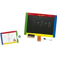 Magnetic Chalk & Dry Erase Board - Wooden Toy