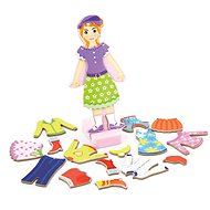 Magnetic Dressing Up - Girl - Wooden Toy
