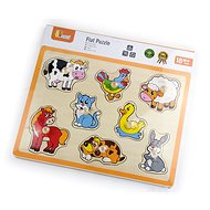 Wooden Flat Puzzle- Farm - Wooden Toy