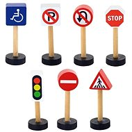 Wooden Road Signs - Building Kit