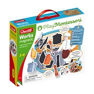 Quercetti Works Magnetic Sorting Lotto - Creative Kit