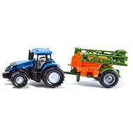 Siku Super - tractor with fertiliser spreader - Metal Model