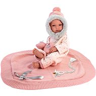 Llorens New Born Baby Girl 63550 - Doll
