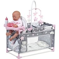 DeCuevas Toys: My first Folding Cot for Sky Dolls - Doll Accessory