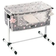 DeCuevas Toys Newborn Baby Cot with SKY Accessories - Doll Accessory