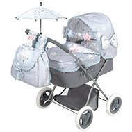 DeCuevas Toys Doll Stroller with Umbrella, Martin 2019-M - Doll Stroller