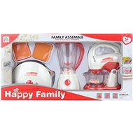 Set of kitchen appliances on faucet - mixer - Thematic Toy Set