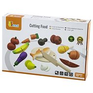 Wooden cutting board - food - Thematic Toy Set