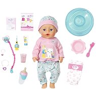 BABY born Bath Soft Touch Baby girl with Toothbrush Accessories - Doll Accessory