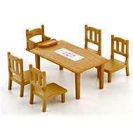 Sylvanian Families Family Table & Chairs - Game Set