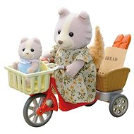 Sylvanian Families Cycling with Mother - Game Set