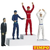 Carrera 21121 Figurines -Winner`S Rostrum with Set of Figures Realistic Scenery Accessory for Slot C - Slot Cart Track Accessory