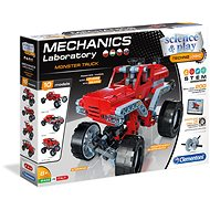 Clementoni Mechanical Laboratory Monster Truck with 10 models - Creative Kit