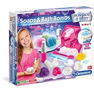 Clementoni Science & Play, Soaps and Bath Bombs - Creative Kit