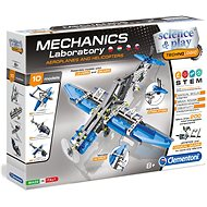 Clementoni - Mechanical Laboratory of Aircraft and Helicopters with 10 models - Creative Kit