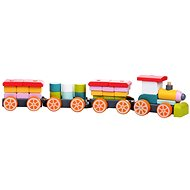 Cubika 13319 Wooden Train - Building Kit